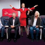 Virgin's Richard Branson Circles His Wagons